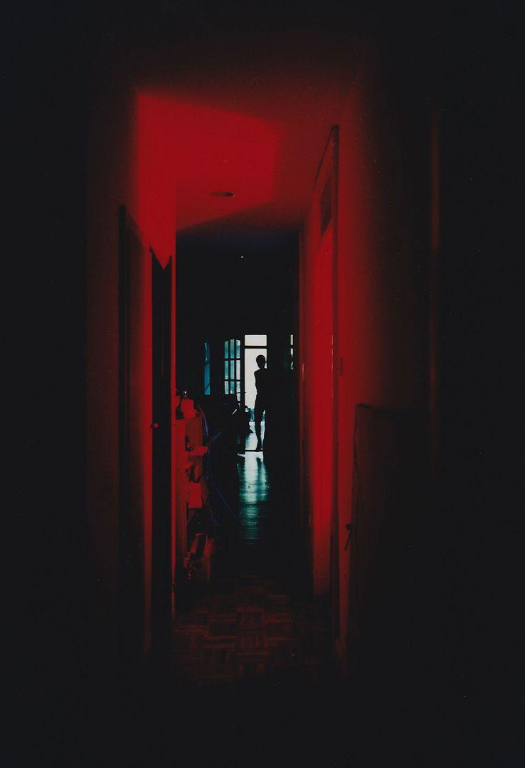 Entre chien et loup, entre rouge et bleu, les photographies de Yu Hirai (née en 1963 à Tōkyō) nous entrainent sur cette frontière ténue où le banal peut soudainement basculer dans l'inattendu. Les images nous proposent un voyage à la lisière du merveilleux, nous invitent à franchir le pas de la porte ouverte par l'artiste sur l'inconnu.