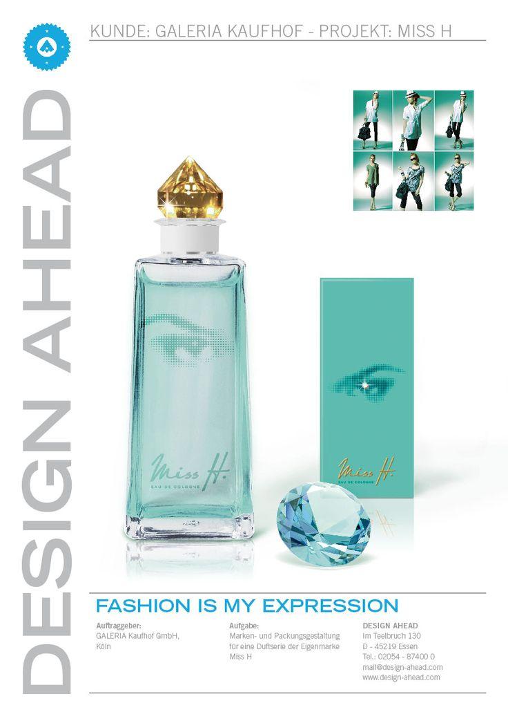 """Packaging Design """"Miss H"""" Parfüm"""