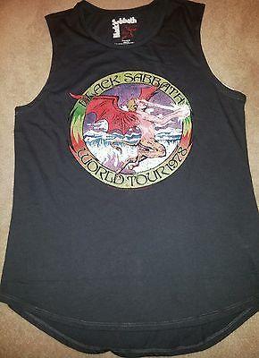 Black Sabbath Sleevless T Shirt Vintage Look New | eBay