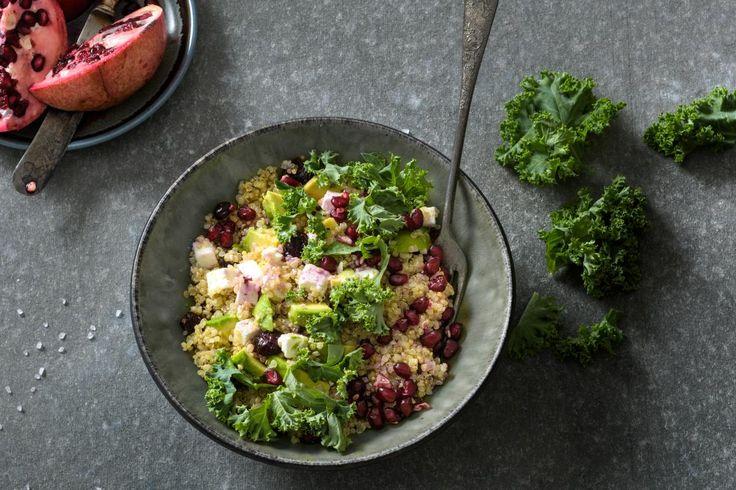 Federkohl-Quinoa-Avocado-Salat - Rezepte | fooby.ch