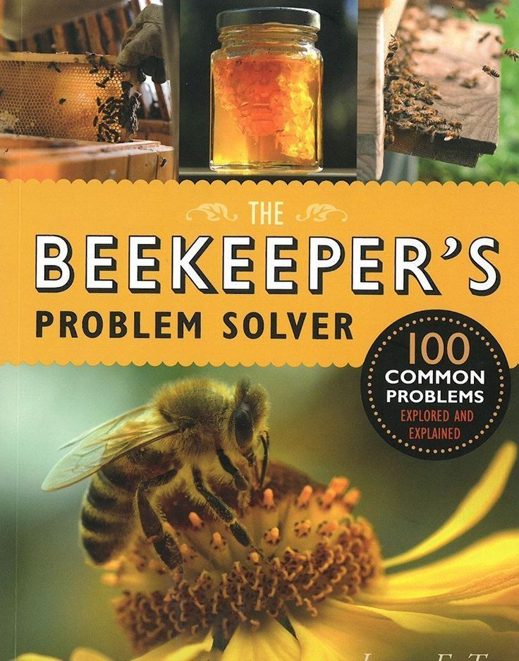 The Beekeeper's Problem Solver - Pinetree Garden Seeds - Books, Gardening, Crafts