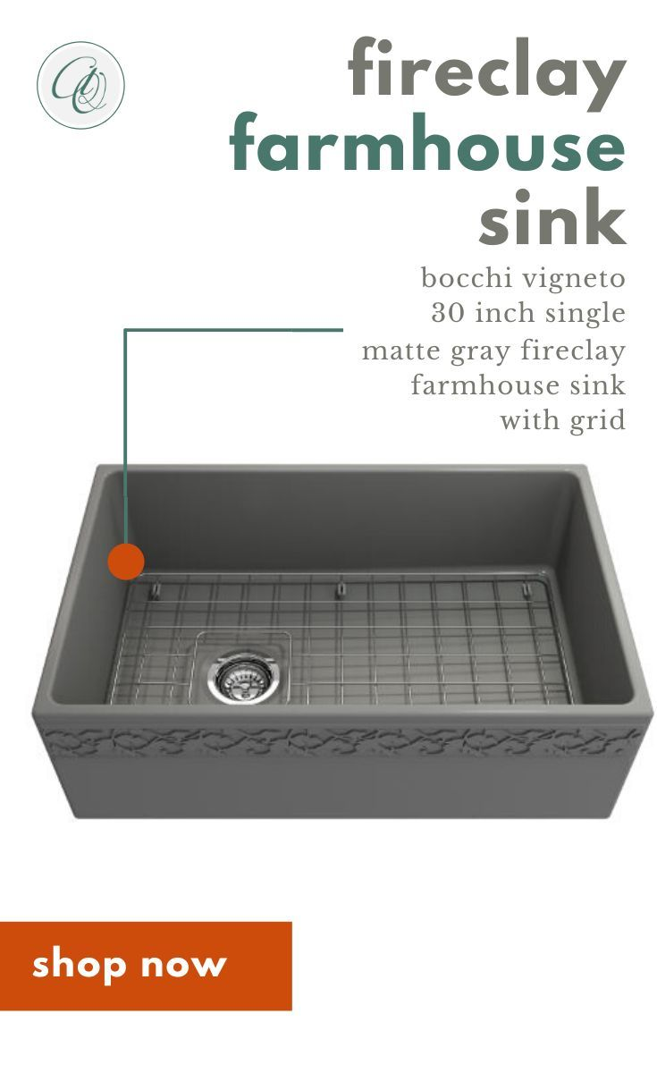 Pin On Fireclay Farmhouse Sinks