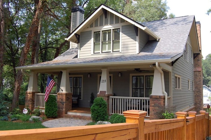 A new craftsman bungalow with historic charm for Craftsman homes atlanta