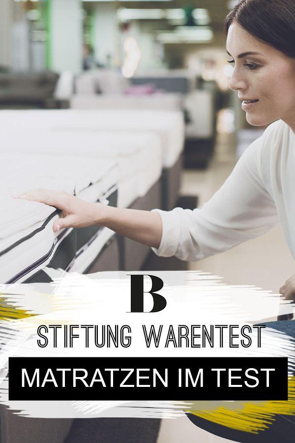 Stiftung Warentest Testet Matratzen Und Die Gunstigste Ist
