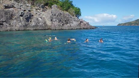 Those mid-week blues got you stumped in the office? Come for a snorkel, we've got all shades of blue in our office! - http://www.boathirefiji.com/ #Fiji #snorkelling #fijifinds #mamanuca #anotherdayattheoffice #WitchDoctor #BoatHireFiji