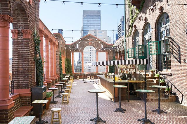 The Best Outdoor Dining In NYC #Refinery29 - Pod 39 Rooftop