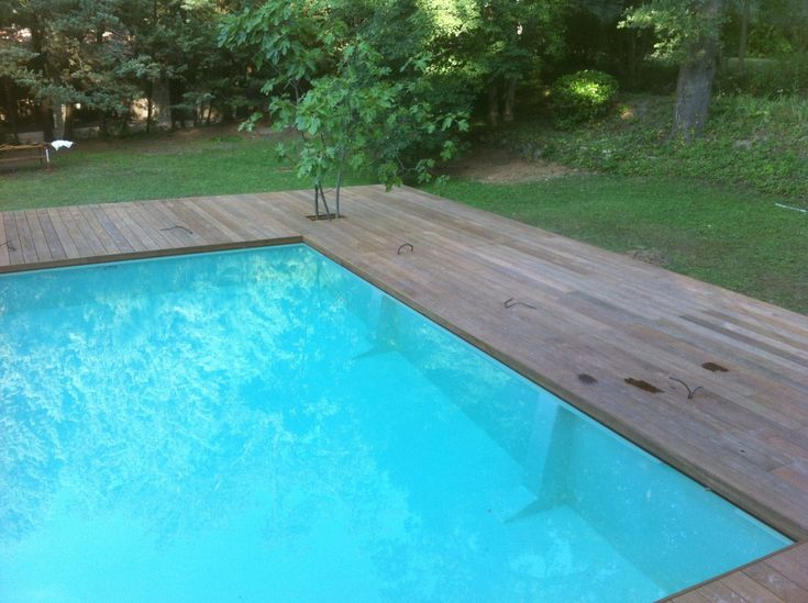 17 best ideas about piscine en bois on pinterest for Amenagement piscine terrasse