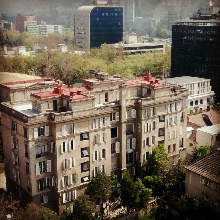 Vista en Providencia #santiagodechile #Chile