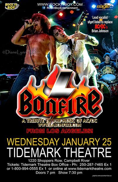 Bonfire, the BEST AC/DC tribute band!