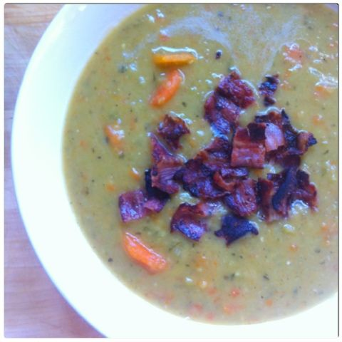 Gourmelita: Split Pea Soup