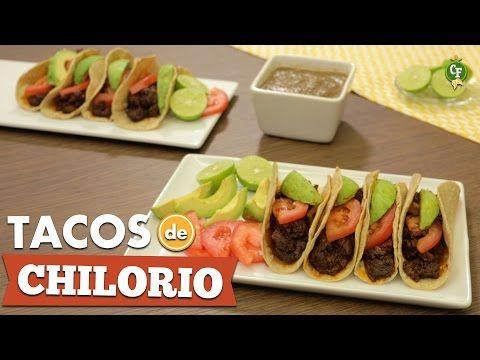 ¿Cómo preparar Tacos de Chilorio? - Cocina Fresca - YouTube