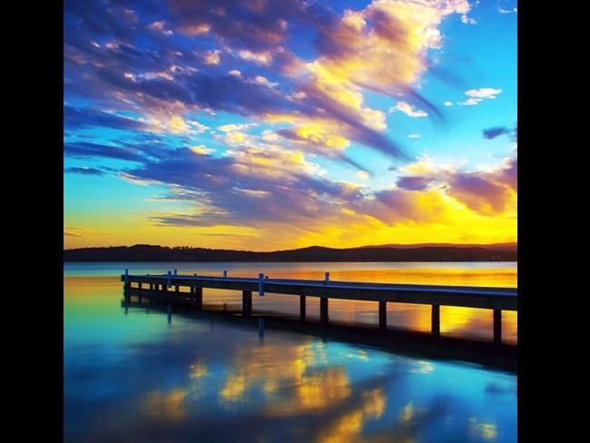 Sunset, Warners Bay (Newcastle NSW).     I live there