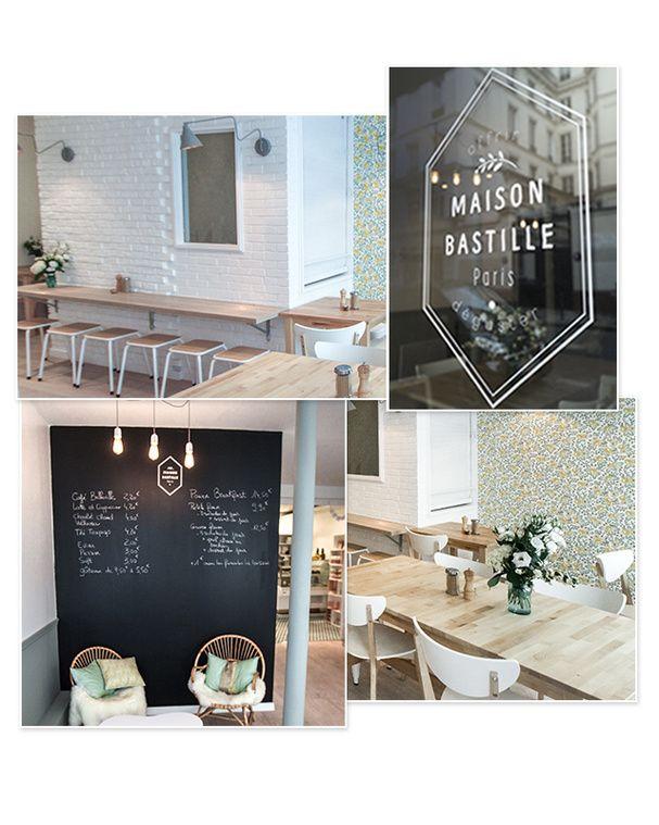 Un café délicat pour une petite pause du samedi, Maison Bastille, 75011