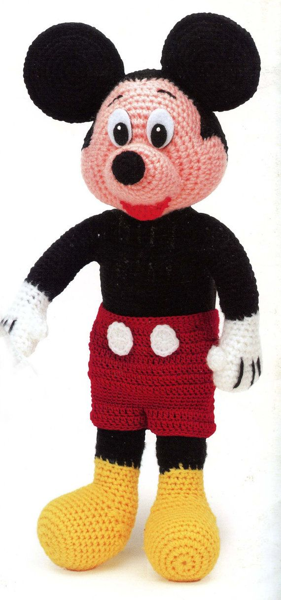 Mickey Mouse Crochet Afghan Pattern Free : 25+ best ideas about Crochet Mickey Mouse on Pinterest ...