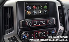 The 2016 Sierra 1500 with Apple CarPlay compatibility.