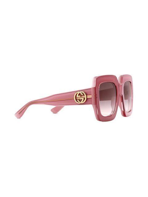 c5f84223830 Gucci Eyewear Square-frame Sunglasses - Farfetch
