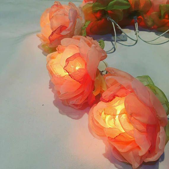 17 Best ideas about Flower Fairy Lights on Pinterest Flower lights, Diy fairy house and Diy ...
