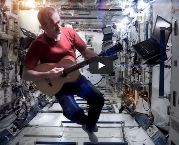 Space Oddity by Astronaut Chris Hadfield | Recorded in Space Station