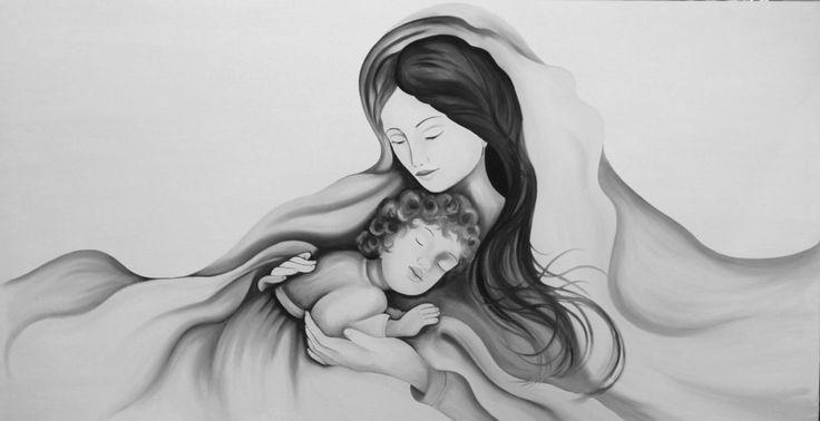 Madonna_moderna_capezzale_moderno_madonna_-bambino.jpg (1378×709)