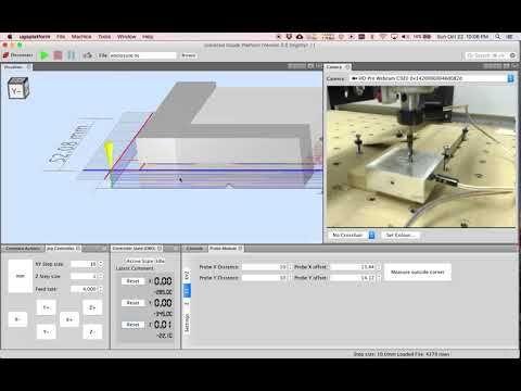 6) Universal Gcode Sender Probe Module Demo - YouTube | CNC