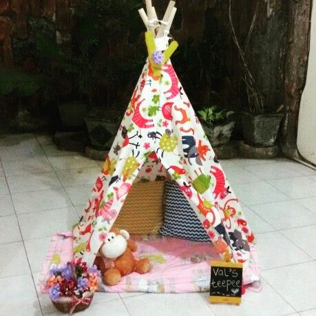 My DIY teepee