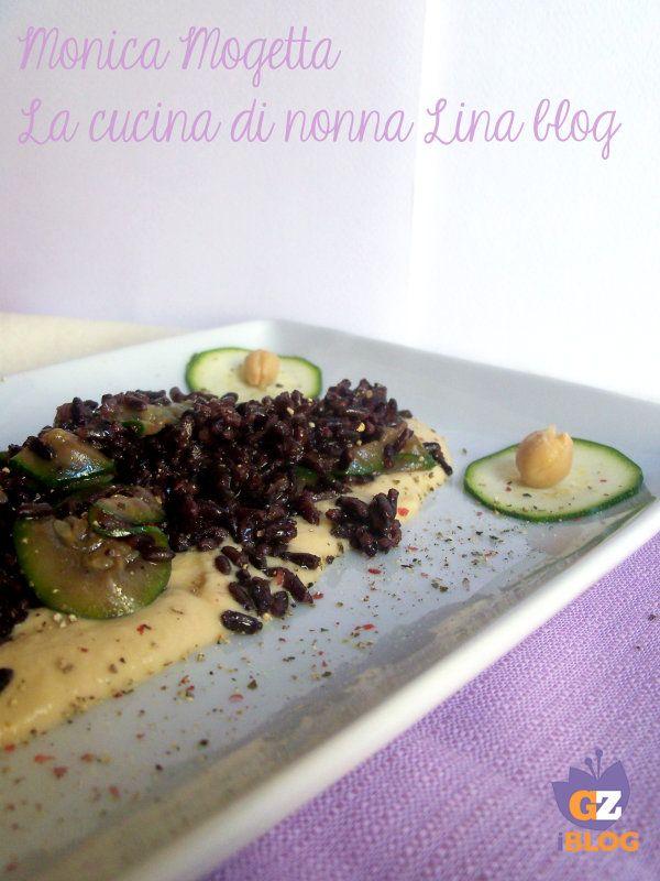 riso venere con zucchine | La cucina di nonna Lina