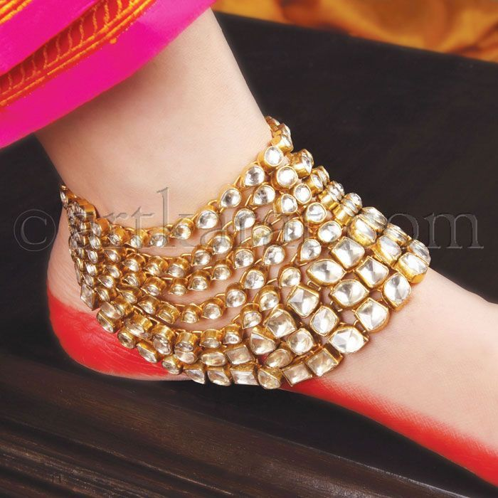 238 Best Payal / Anklet Images On Pinterest