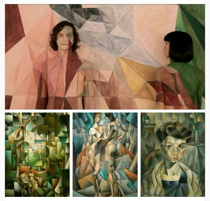 El videoclip de Gotye y el cubismo peculiar de Metzinger.  Vía pabloortizdezarate.tumblr.com