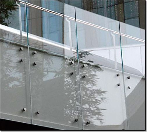 11 best Glass Railing Systems images on Pinterest Glass railing - k chenr ckwand aus glas