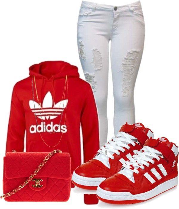 """""""Adidas"""" by vivalafashiongirlxoxo ❤ liked on Polyvore"""