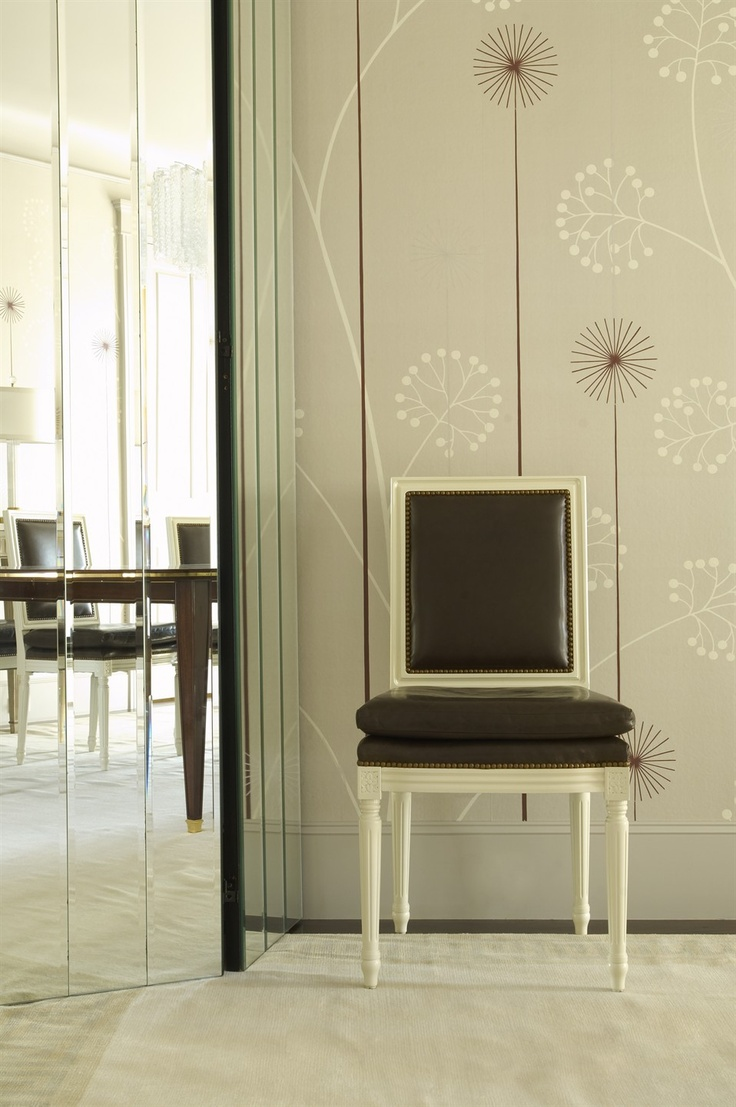 Like This Wallpaper Used In Dining Room By Jan Showers