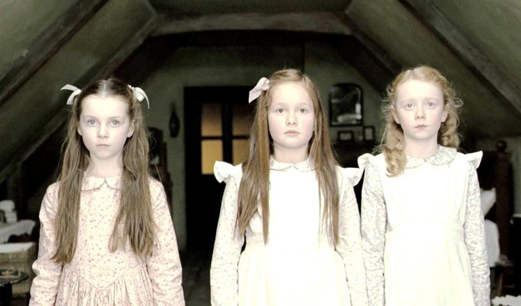 There is nothing sweeter than three ghostly little Victorian girls.