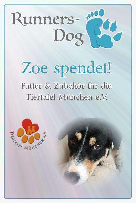 Zoe spendet an die Tiertafel München e.V. Tiere