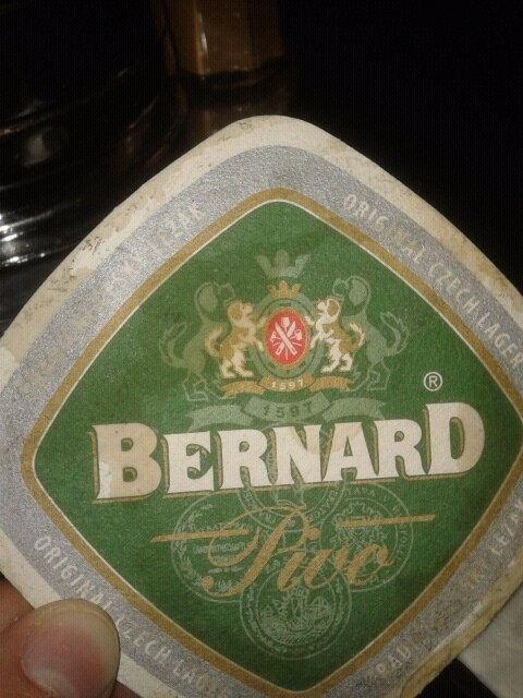 Bernard pivo - Means Beer Bernard - Only French can get that one !