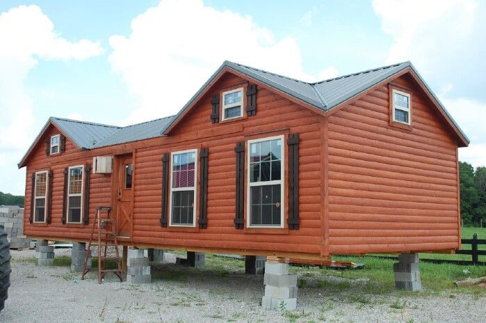 7 Beautiful Modular Log Cabins From Amish Cabin Company In 2020 Modular Log Cabin Small Cabin Designs Modular Cabins