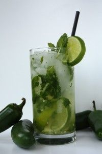 Jalapeno Mojito sweet and the spicy-ness tingles YUM
