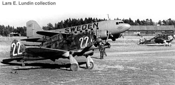 Swedish air force wartime - pin by Paolo Marzioli