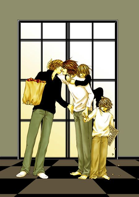 L x Light, ft. Mello and Near. | Death Note | Pinterest ...