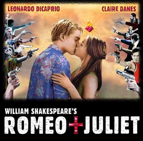 """Dicas de Filmes pela Scheila: Filme: """"Romeu + Julieta"""""""