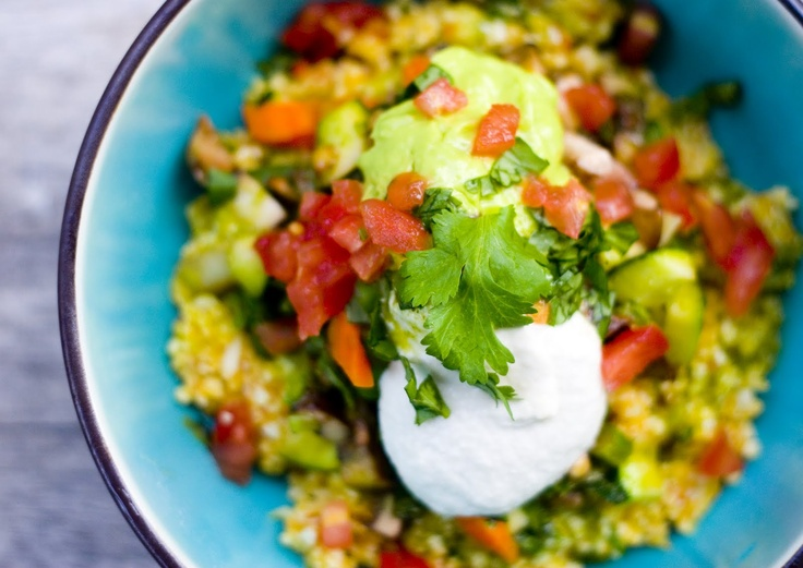 Burrito bowl | In The Raw | Pinterest | Bowls, Burritos and Burrito ...