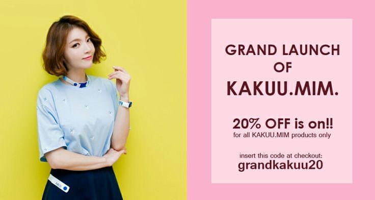 Grand Launch of KAKUU.MIM 20% OFF! Visit us today at kakuubasic.com