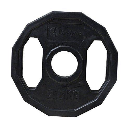 http://gimnasioynutricion.com/maquinas/mancuernas/discos-olimpicos/placa-de-pesas-de-disco-olimpicas-poligonales-bodyrip-negro-4-x-25-kg/