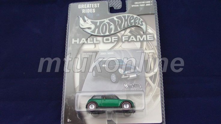 HOTWHEELS 2003 HALL OF FAME | 2001 MINI | B5934 | GREATEST RIDES