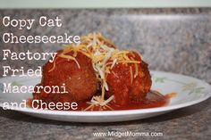 {Recipe} Copy Cat Cheesecake Factory Fried Macaroni and Cheese - MidgetMomma....One Short Momma, Never Short on the Good Stuff