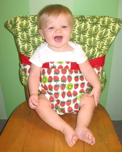 Cloth high chair: Chairs What, Diy Baby Clothing Ideas, Chairs Clothing, Kids Ideas, Kids Names, Baby Girls, Baby Chairs Ideas, High Chairs, Baby Stuff