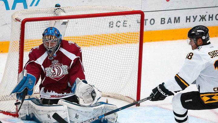 Вратарь из Риги Калниньш возглавил список хоккеистов недели в КХЛ   24инфо.рф