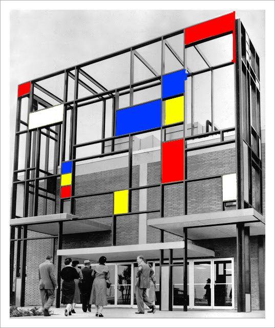 23 best images about gcse trends research on pinterest for De stijl architettura