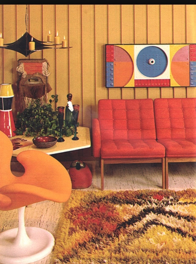 60s home 60s home decor pinterest home interiors for Interieur 70 jaren