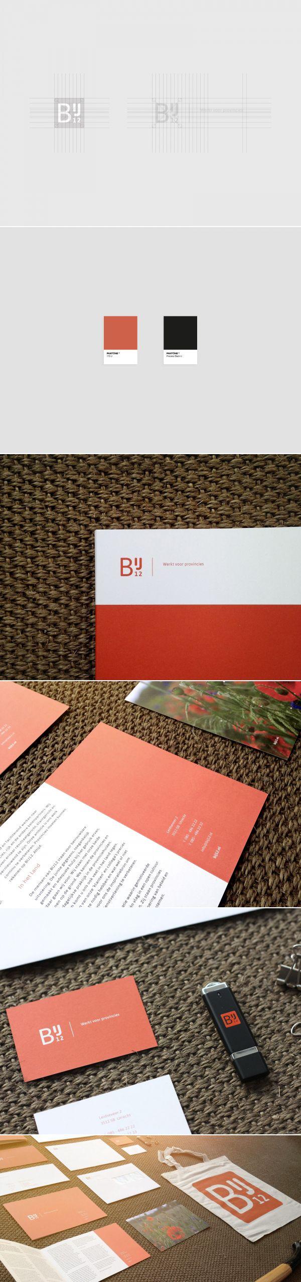 Opdracht: ontwikkeling van de visuele identiteit ter ondersteuning van de 'uitvoeringsorganisatie' die BIJ12 zal worden.