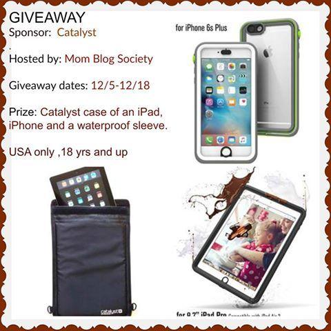 Catalyst Case iPad, iPhone & Waterproof Sleeve Giveaway